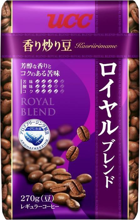 Кофе в зернах UCC Каори Ирим Эйм Роял Бленд, 270 г