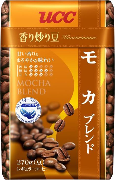 Кофе в зернах UCC Каори Ирим Эйм Мока, 270 г