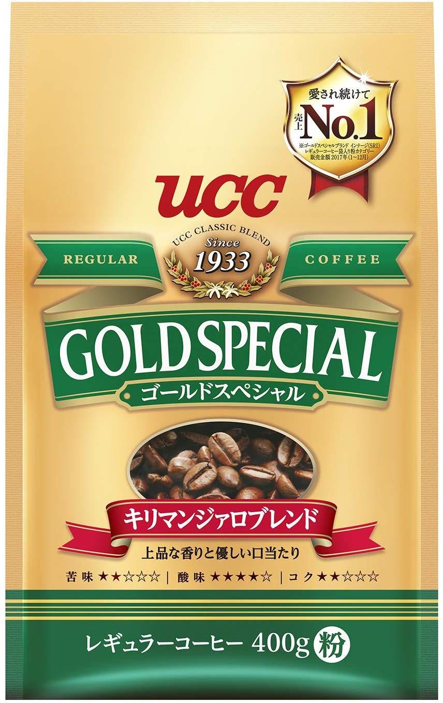 Кофе молотый UCC Голд Спешиал Килимананджаро, 400 г