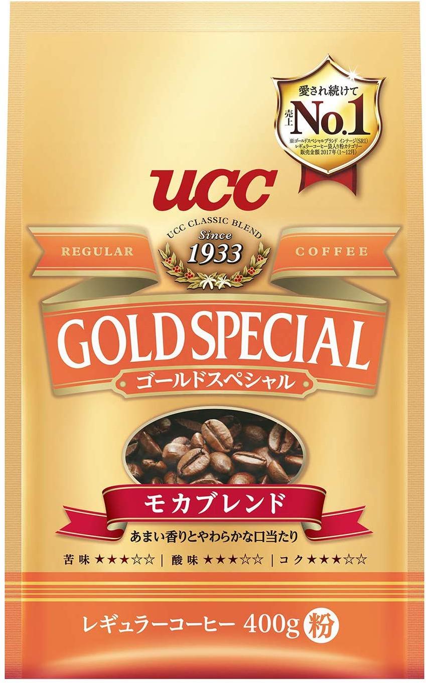 Кофе молотый UCC Голд Спешиал Мокка, 400 г