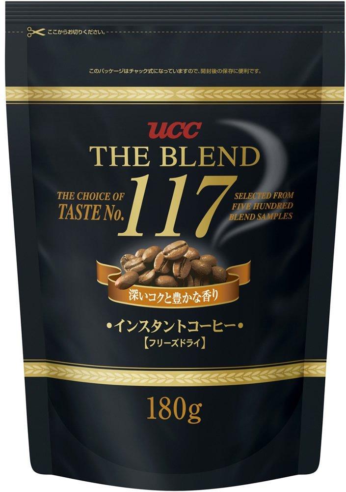 Кофе растворимый UCC Коллекция 117, 180 г