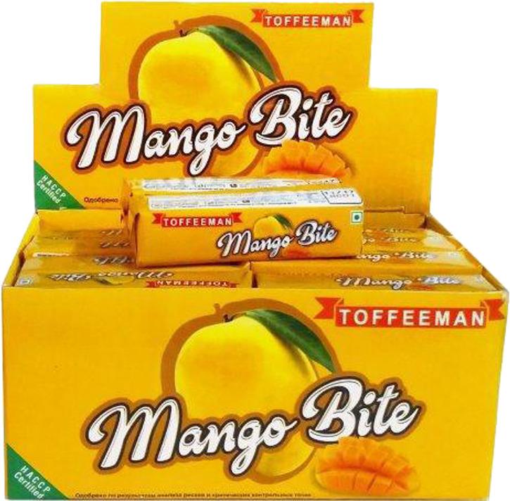 Конфеты Toffeeman Mango Bite Ирис, 30 шт bas ирис