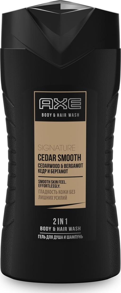 Axe Гель для душа и шампунь Гладкое очищение, 250 мл шампунь гель для волос и тела axe gold 250 мл 67323608