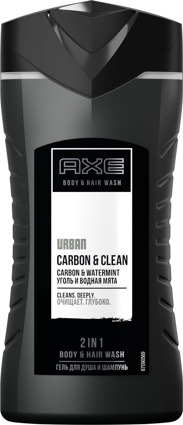 Axe Гель для душа и шампунь Эффективное очищение, 250 мл шампунь гель для волос и тела axe gold 250 мл 67323608