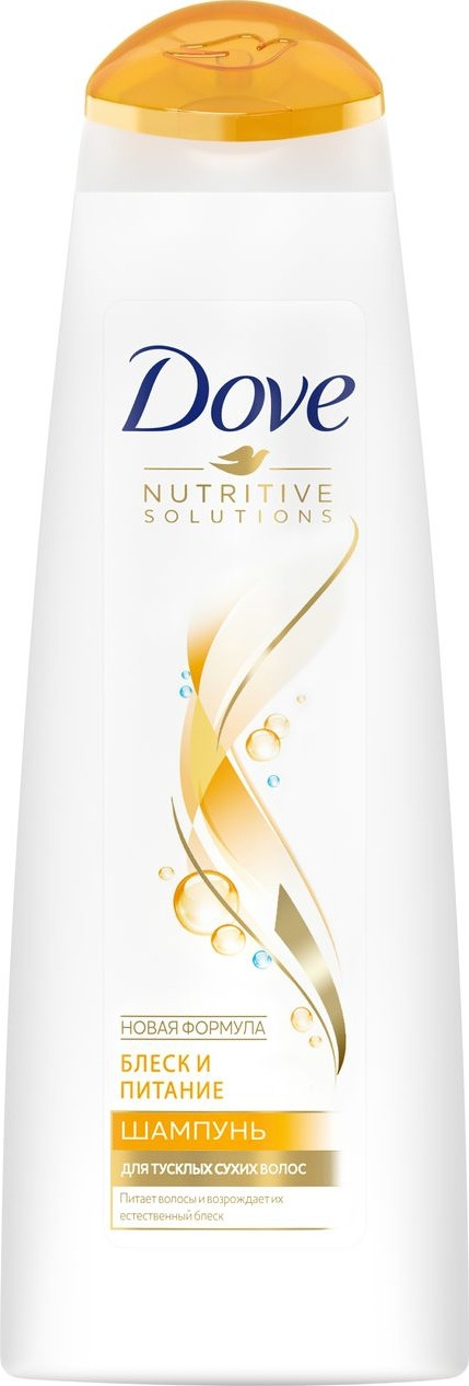 Dove Шампунь Nutritive Solutions Блеск и питание, 380 мл цена