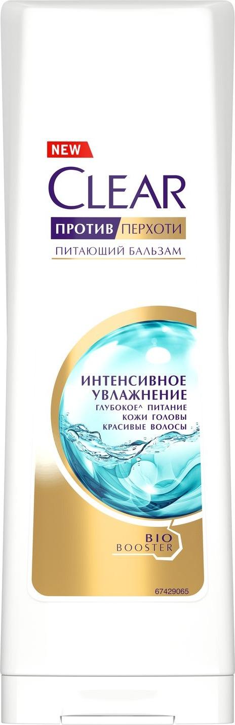 Питающий бальзам для волос Clear Интенсивное увлажнение, против перхоти, 180 мл цена в Москве и Питере