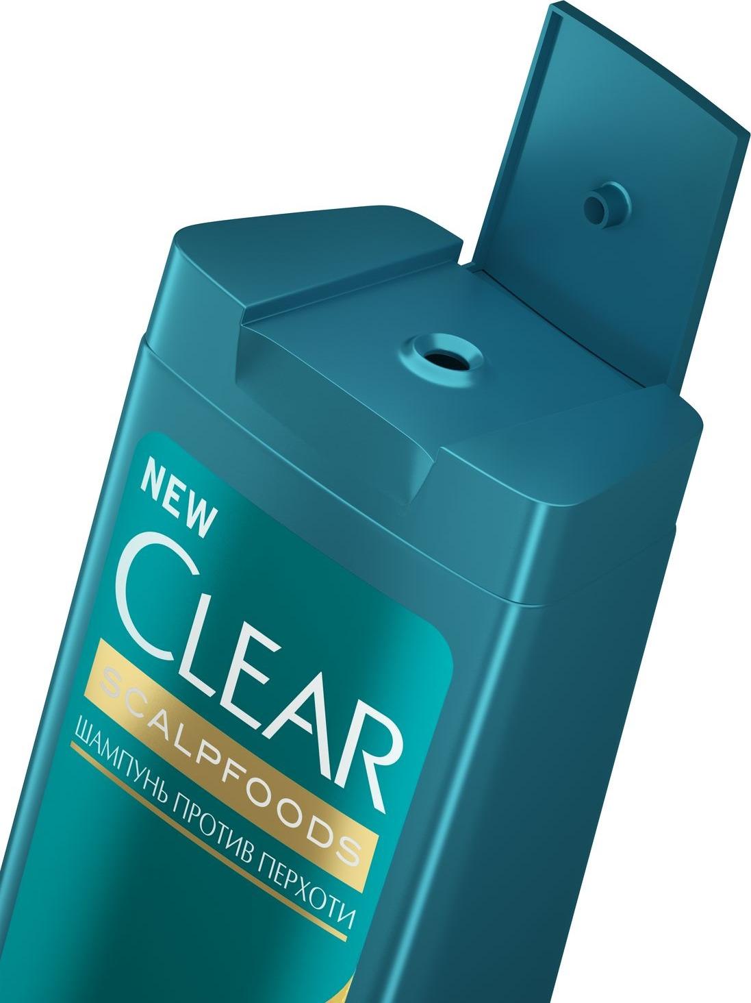 Шампунь для волос Clear Детокс Увлажняющий, против перхоти, 400 мл Clear