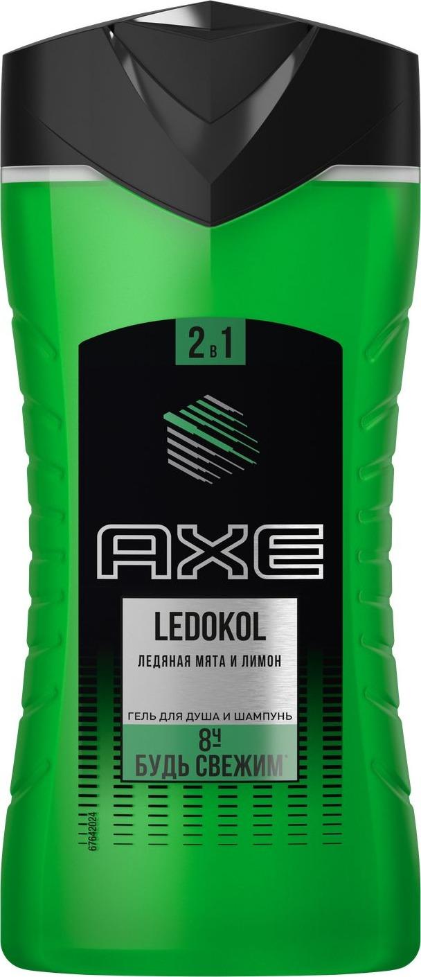 Гель для душа-шампунь Axe Ledokol, 2 в 1, 250 мл недорого