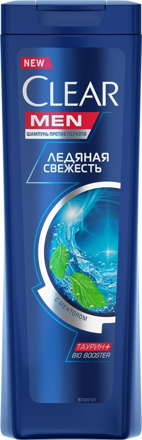 Clear Men Шампунь против перхоти Ледяная свежесть с ментолом 200 мл шампунь с ментолом цена