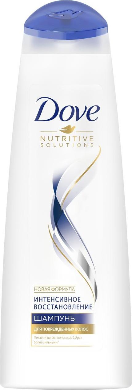 Dove Nutritive Solutions Шампунь для поврежденных волос Интенсивное восстановление 250 мл