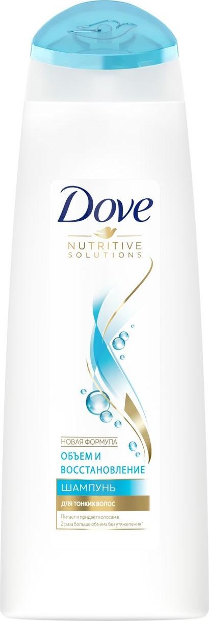 Dove Nutritive Solutions Шампунь Объем и восстановление 250 мл dove шампунь hair therapy питающий уход 380мл