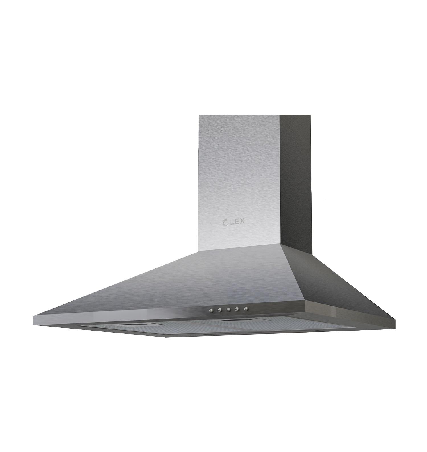 Вытяжка LEX Basic 500 Inox, серый металлик