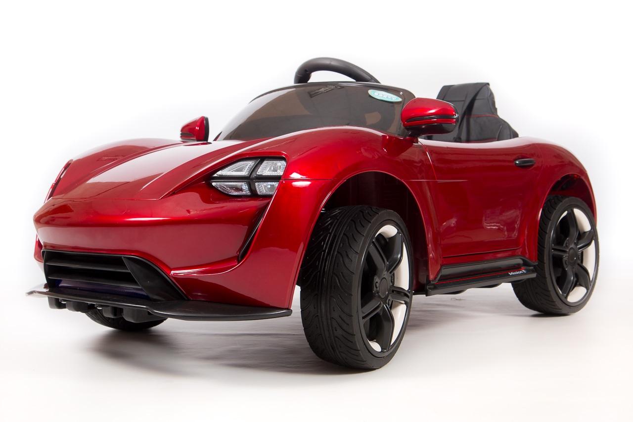 Электромобиль Barty Porsche Sport, красный толокар barty bl7602 красный
