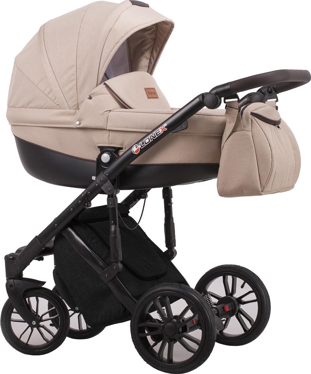 Универсальная коляска Lonex Comfort Prestige 2в1, LX-CT-L-05, персиковый