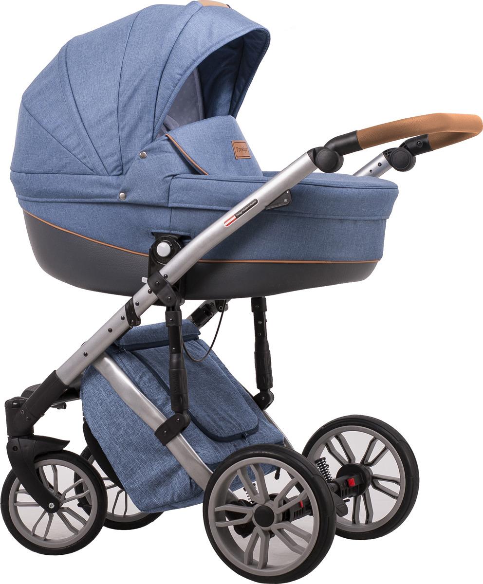 Универсальная коляска Lonex Comfort Prestige 2в1, LX-CT-L-06, голубой