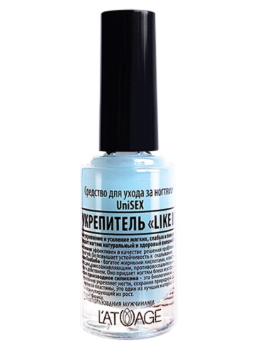 Топовое покрытие Latuage Cosmetic для ухода за ногтями PRO УКРЕПИТЕЛЬ «LIKE IRON» 8,5 г