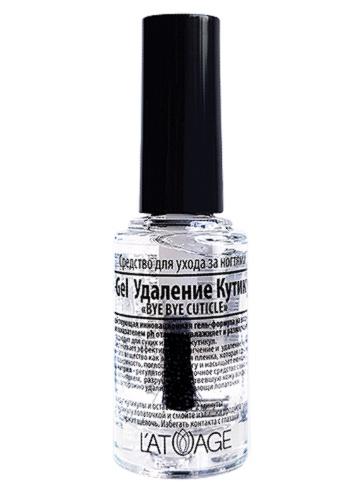 Топовое покрытие L'atuage Cosmetic для ухода за ногтями Ph-Gel Удаление Кутикулы «BYE BYE CUTI шампуни с высоким ph