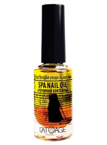 Топовое покрытие Latuage Cosmetic для ухода за ногтями SPA NAIL OIL «УТРЕННИЙ КОКТЕЛЬ» 8,5 г