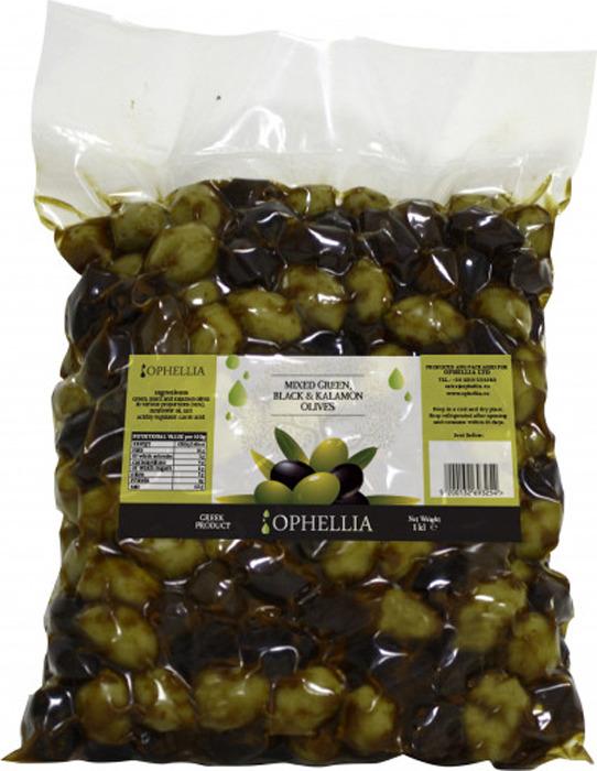 Овощные консервы Ophellia Микс из оливок, 1 кг