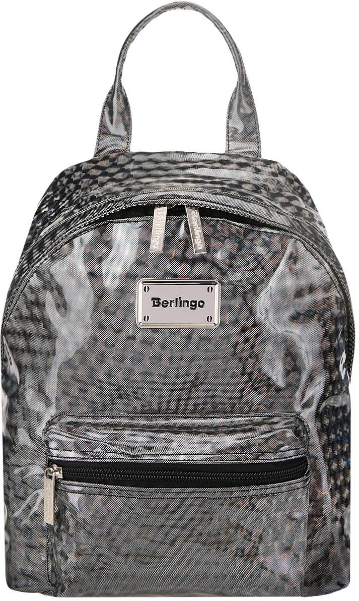 Фото - Рюкзак детский Berlingo Glam Style Silver Net, RU047816 рюкзак berlingo medium kitty sweet ru038040 254958