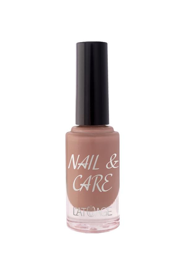 Лак для ногтей Latuage Cosmetic Nail & Care тон 606 коричнево бордовый 8,5 г