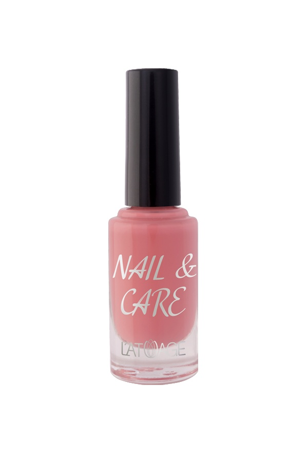 Лак для ногтей Latuage Cosmetic Nail & Care тон 607 кораловый 8,5 г