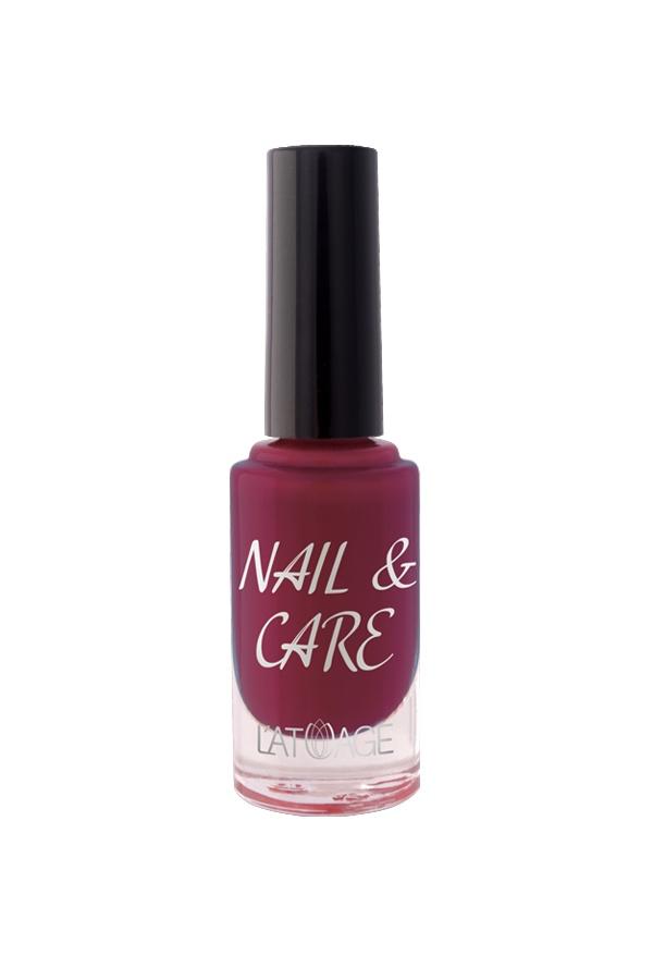 Лак для ногтей Latuage Cosmetic Nail & Care тон 610 бордовый 8,5 г