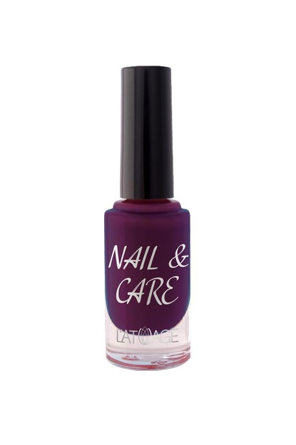 Лак для ногтей Latuage Cosmetic Nail & Care тон 611 баклажан 8,5 г