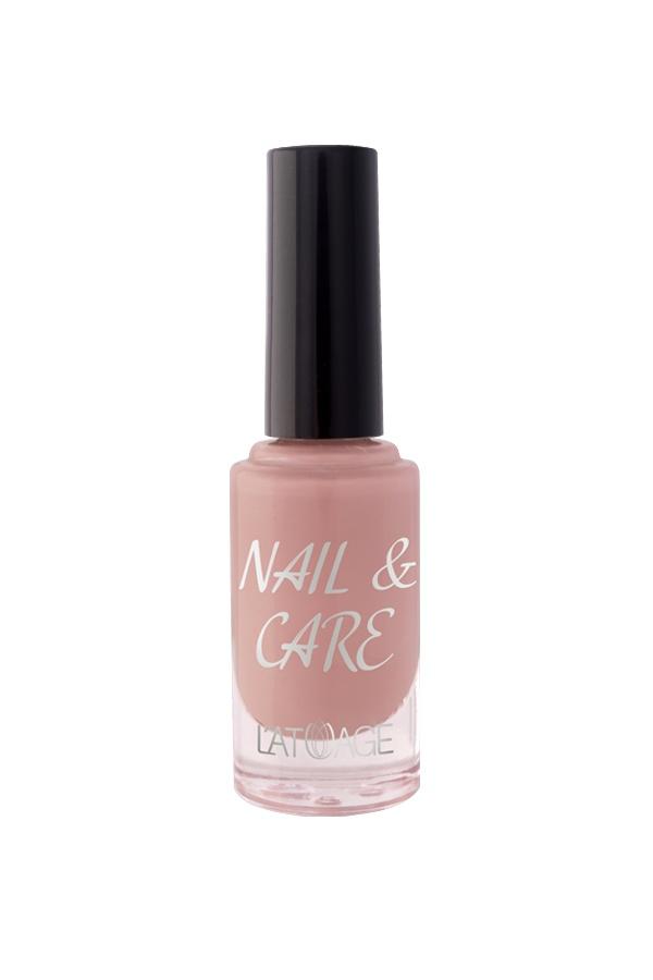 Лак для ногтей L'atuage Cosmetic Nail & Care тон 604 нюдовый коррал 8,5 г