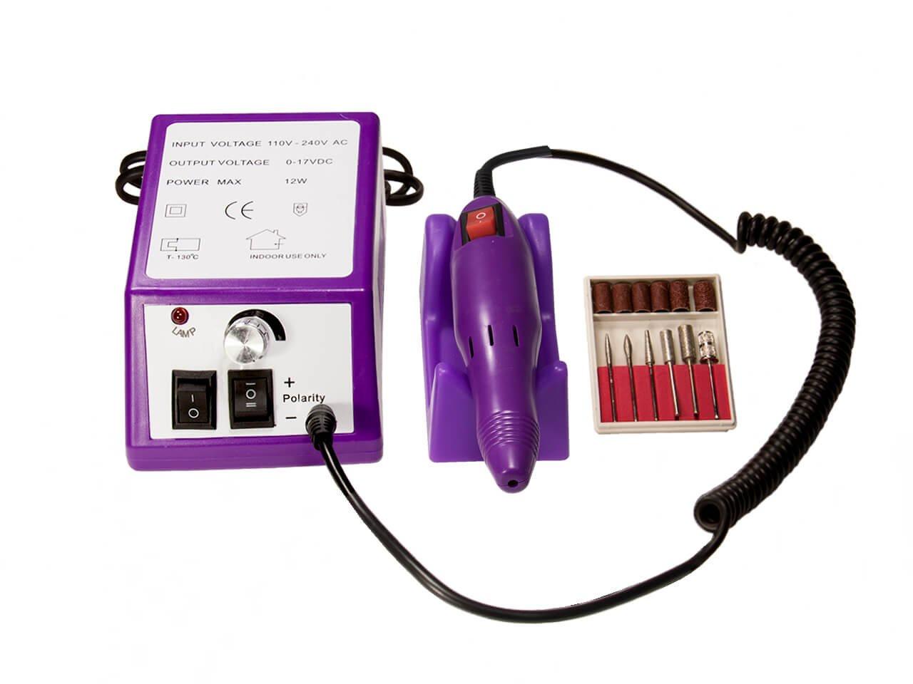 Аппарат для маникюра и педикюра Lina Mercedes 2000 Lina Purple аппарат для маникюра и педикюра smile mpss 3403