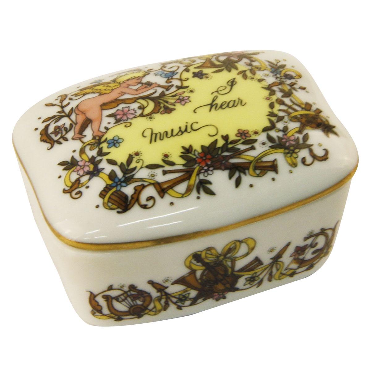 цены на Шкатулка Franklin Porcelain Я буду любить тебя всегда., Фарфор  в интернет-магазинах