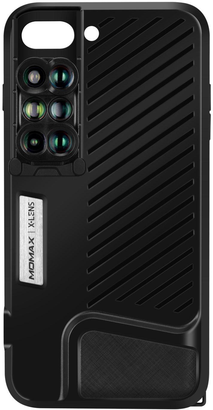 Объектив Momax CAMC2D 6-in-1 Lens для iPhone 7/8 Plus, черный Momax