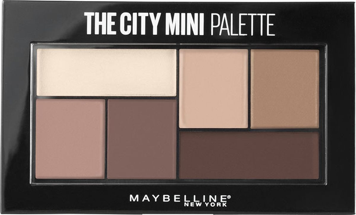 Палетка теней для глаз Maybelline New York The City Mini, оттенок 480, Matte About Town, 6 г цена в Москве и Питере