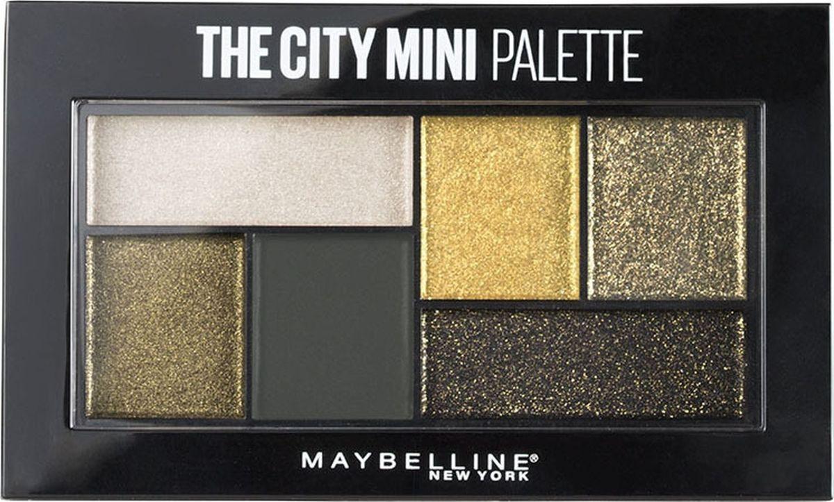 Палетка теней для глаз Maybelline New York The City Mini, оттенок 420, Urban Jungle, 6 г цена в Москве и Питере