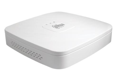 Регистратор DAHUA Видеорегистратор IP DHI-NVR2104-4KS2, белый