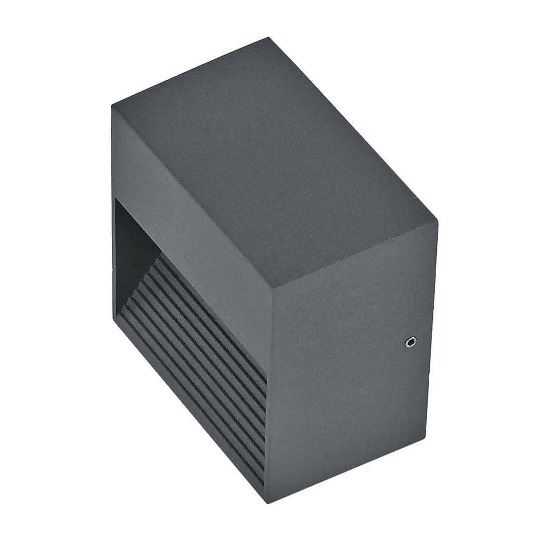 Фото - Уличный светильник Ideal Lux Down AP1 Antracite, G9 потолочный светильник ideal lux pl6 g9 max 6 x 40w g9 вт