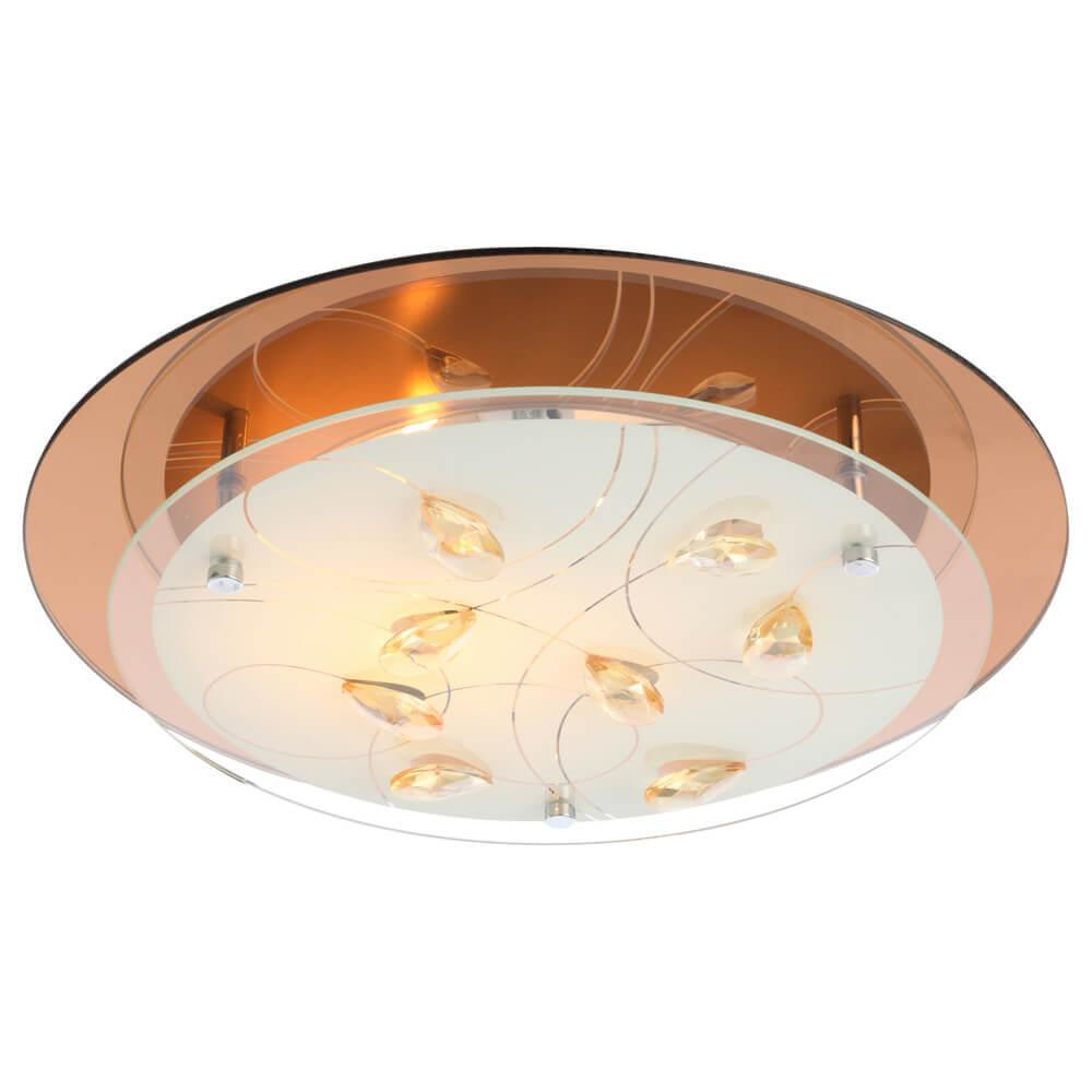 Накладной светильник Globo 40413-2, E27, 40 Вт накладной светильник globo maverick 40491 2
