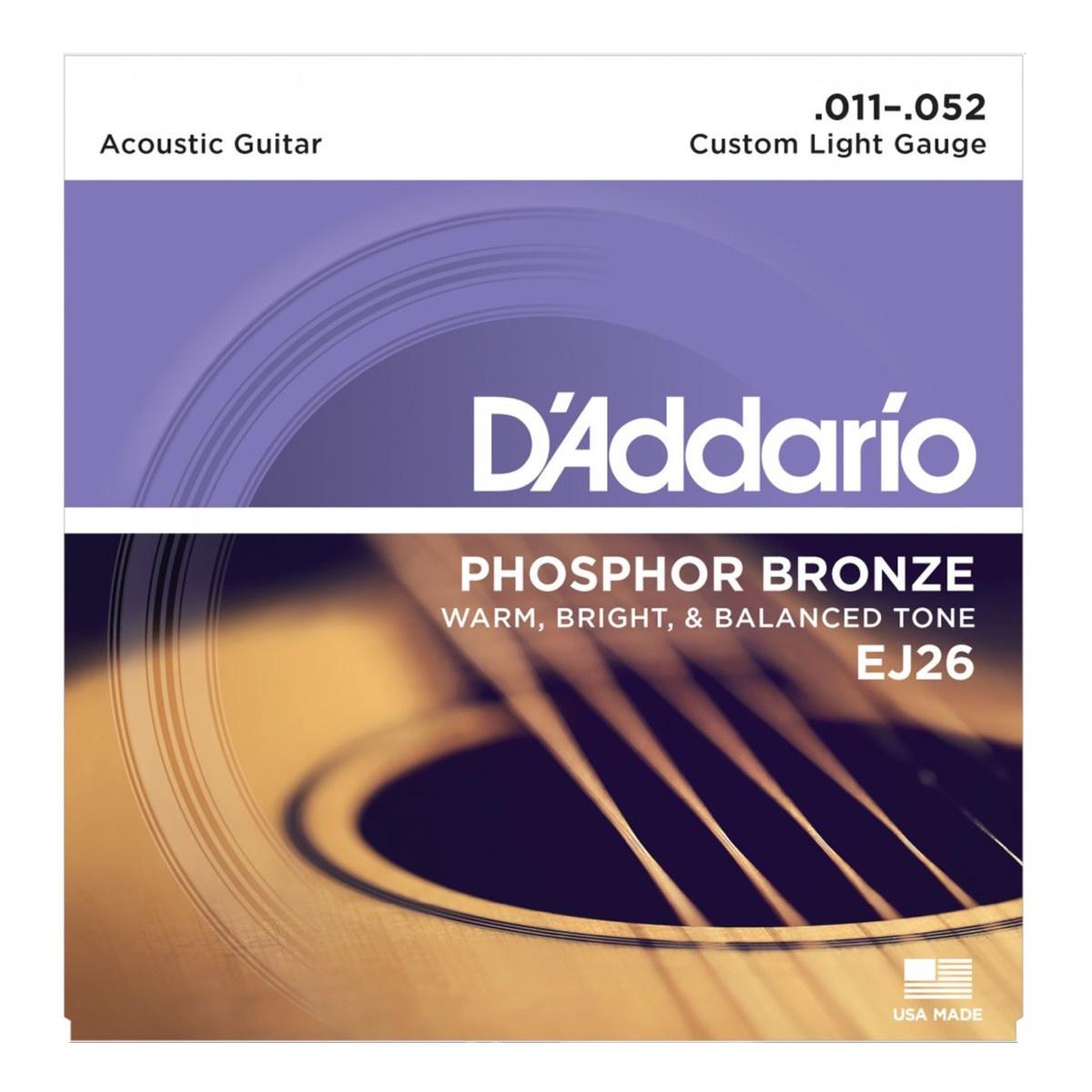 цена на Струны для гитары D'Addario EJ26