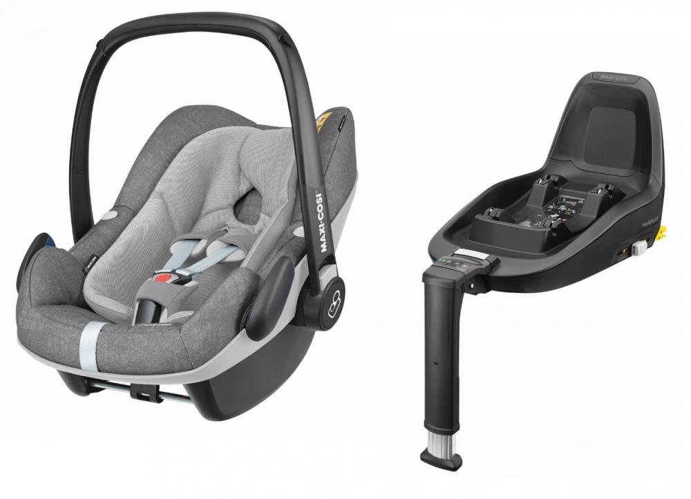 Maxi-Cosi автокресло Pebble Plus Nomad Grey 0-13 кг защитный коврик для кресла автомобиля maxi cosi 72508950 33200001
