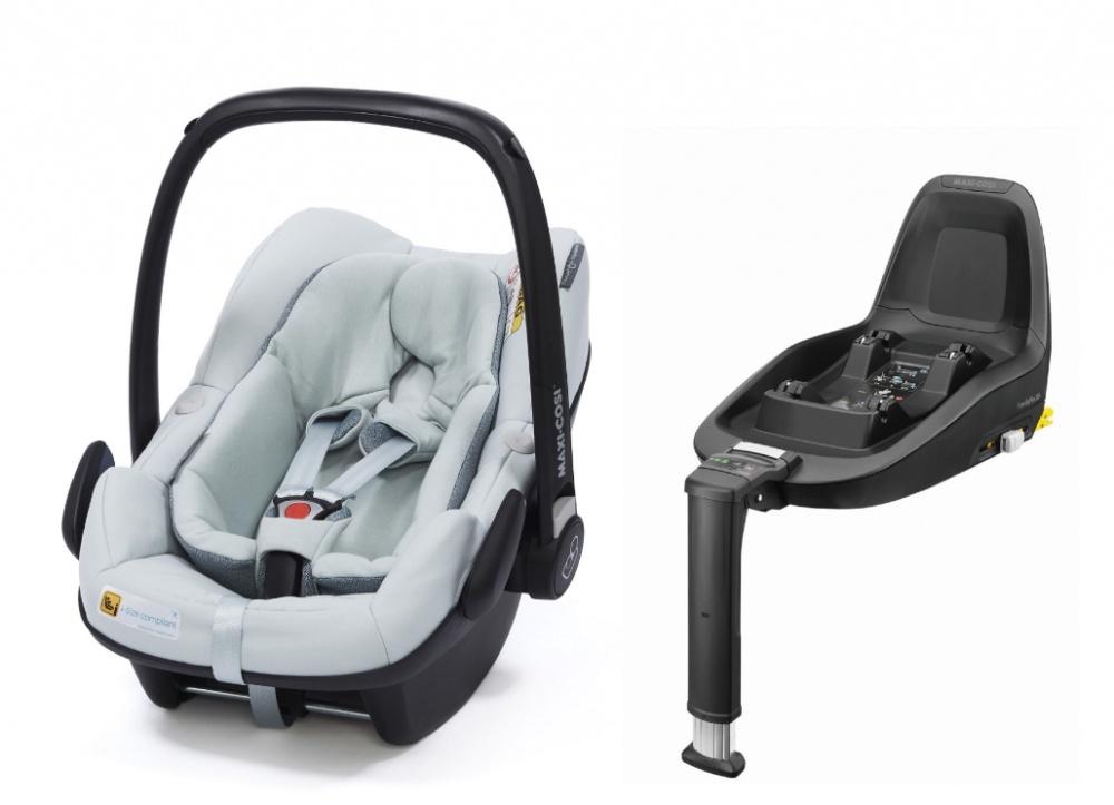 Maxi-Cosi автокресло Pebble Plus Grey (0-13 кг) защитный коврик для кресла автомобиля maxi cosi 72508950 33200001