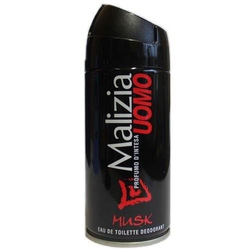 Дезодорант Malizia aэрозоль MUSK 150 мл дезодорант malizia cyber kiwi 75 мл