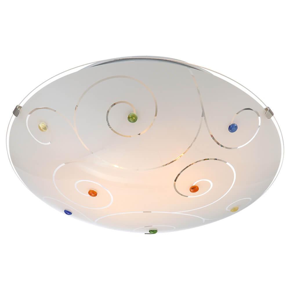 Накладной светильник Globo 40983-2, E27, 60 Вт накладной светильник globo maverick 40491 2