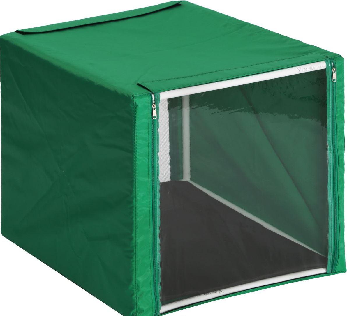Клетка для животных Заря-Плюс КВР1, зеленый палатка greenell виржиния 6 плюс green
