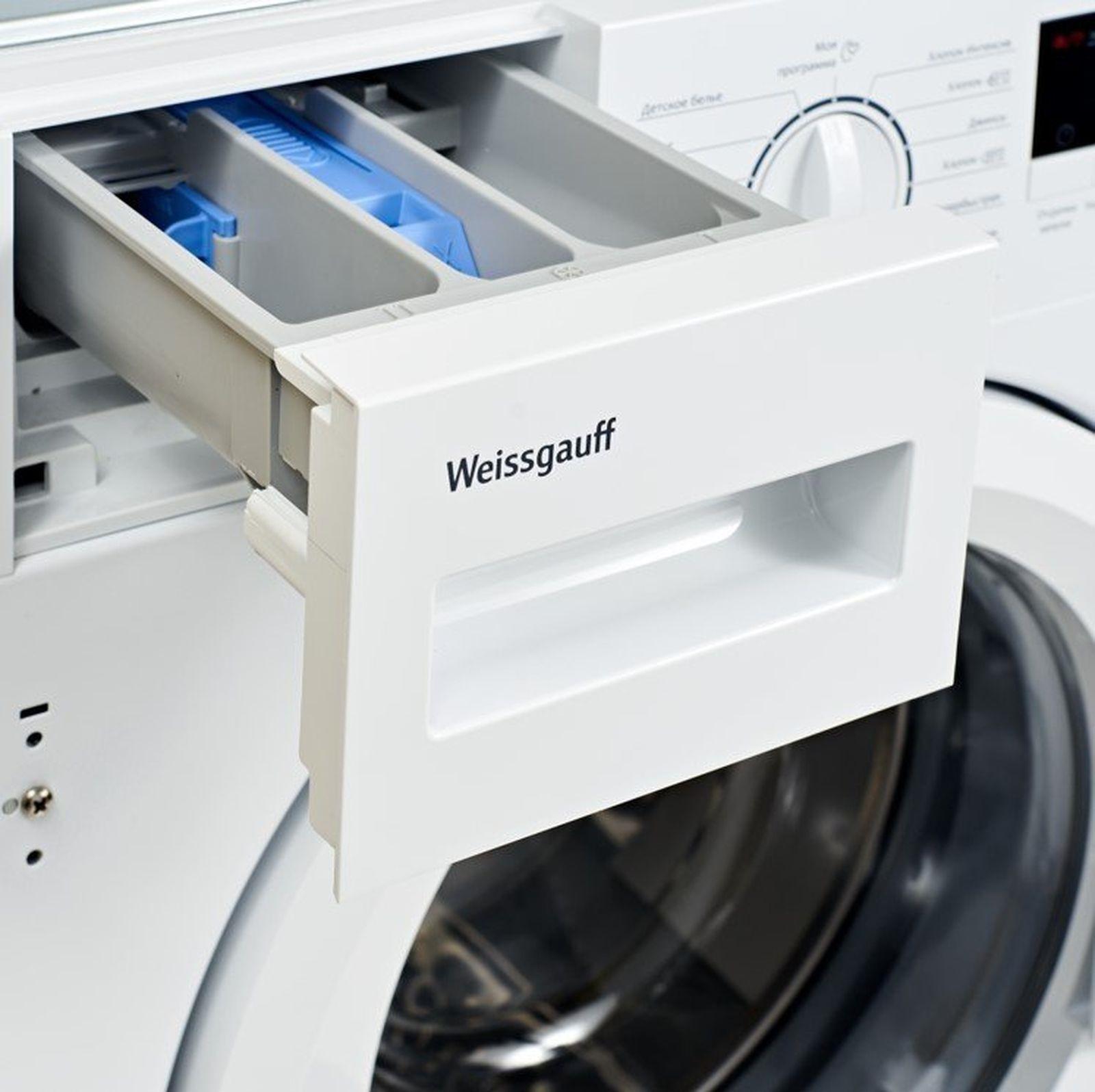 Стиральная машина Weissgauff WMDI 6148 D, 404317, белый Weissgauff