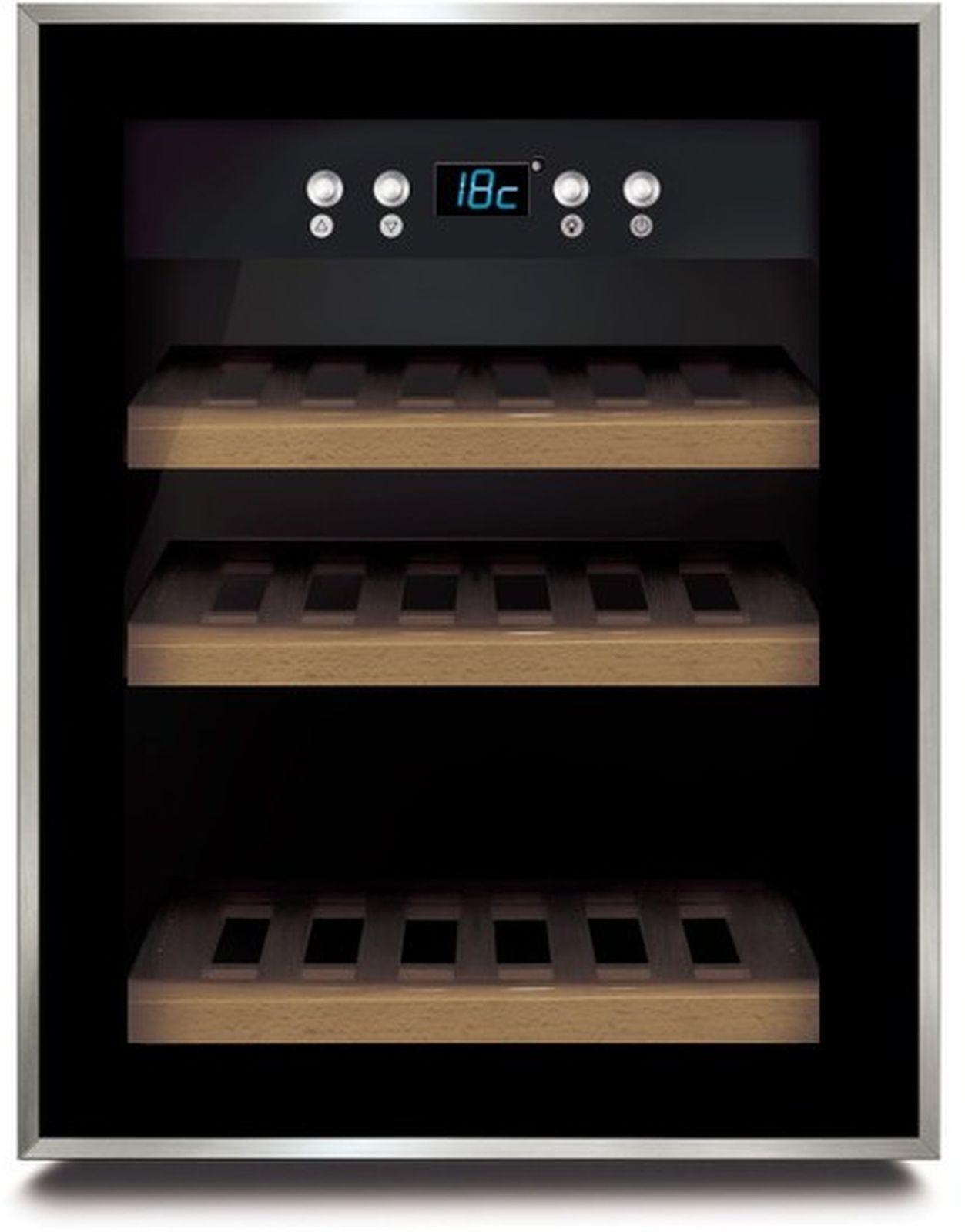 CASO WineSafe 12, Blackвинный шкаф CASO