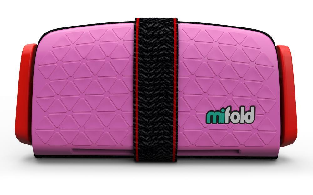 Mifold Бустер автомобильный Grab-and-Go Perfect Pink бустер mifold the grab and go pearl grey