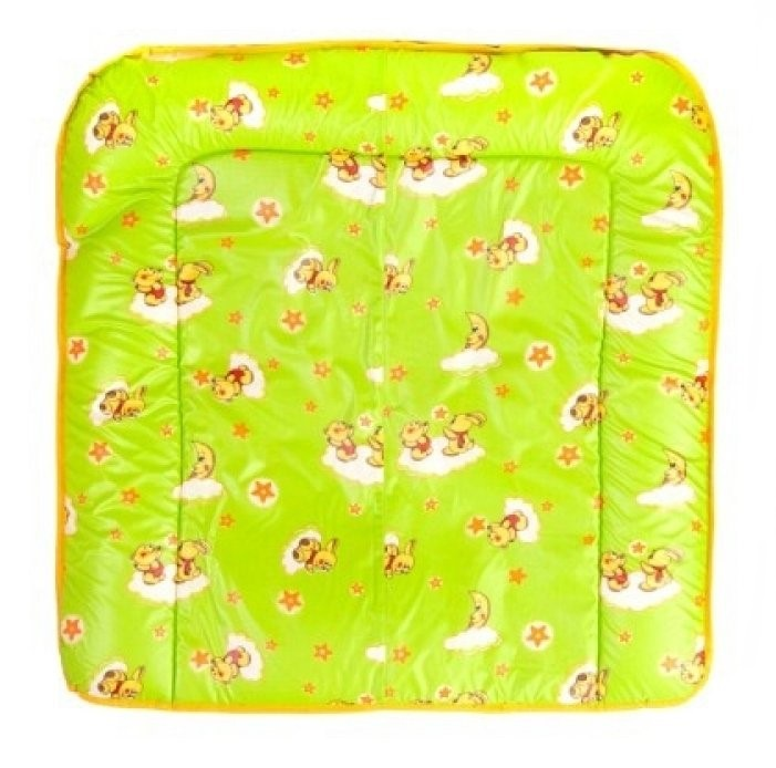 цена Доска пеленальная Фея мягкая на комод (зеленый) в интернет-магазинах