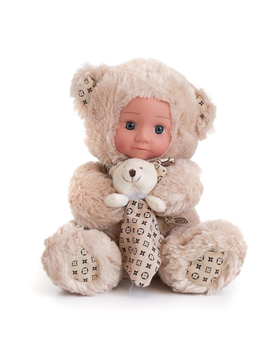 """Кукла """"Anna De Wailly"""" Медвежонок с платочком 25 см"""