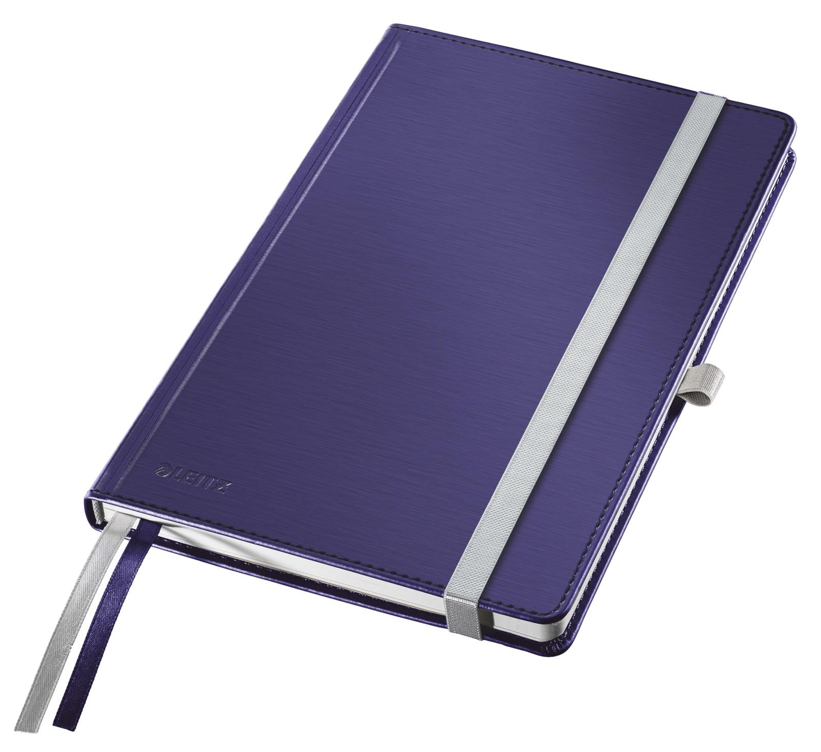 Записная книжка Leitz Записная книга Style, А5, клетка, синий титан, 80