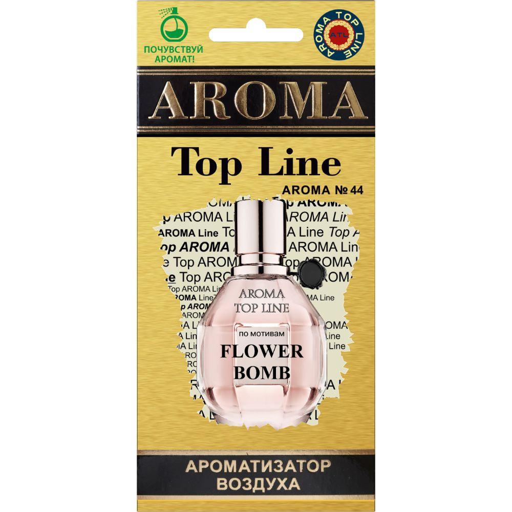Автомобильный ароматизатор AROMA TOP LINE 44 Flower Bomb Viktor & Rolf flower embroidered smock top